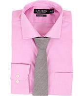LAUREN Ralph Lauren - Stretch Gingham Slim Estate Pocket Shirt