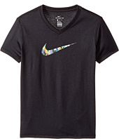 Nike Kids - Dry Swoosh Fill Short Sleeve Tee (Little Kids/Big Kids)