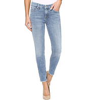 7 For All Mankind - The Ankle Skinny w/ Grinded Hem in Gold Coast Waves