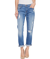 7 For All Mankind - Josefina w/ Destroy in Adelaide Bright Blue