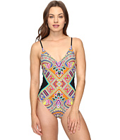 Trina Turk - Nepal Over the Shoulder Maillot One-Piece