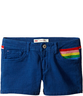 Levi's® Kids - Embroidery Shorty Shorts (Big Kids)