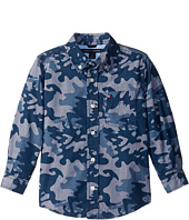 Tommy Hilfiger Kids - Glen Camo Printed Shirt (Big Kids)
