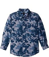 Tommy Hilfiger Kids - Glen Camo Printed Shirt (Big Kids)