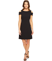 Adrianna Papell - Power Stretch Cold Shoulder A-Line Dress