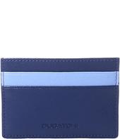 BUGATCHI - Saffiano Two-Tone Card Case