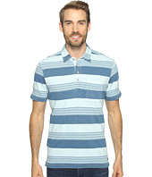 True Grit - Stacked Stripe Short Sleeve Polo