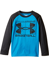 Under Armour Kids - Branded Basketball Long Sleeve Raglan (Little Kids/Big Kids)