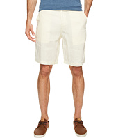True Grit - Sunset Linen Drawsting Chino Shorts Vintage Washed for Softness