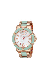 Betsey Johnson - BJ00459-16 - Rose Gold w/ Mint Enamel