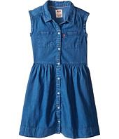 Levi's® Kids - Rolled Sleeve Short Sleeve Woven Dress (Little Kids)