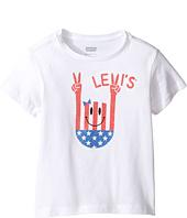 Levi's® Kids - Short Sleeve Hi-Low Tee (Little Kids)