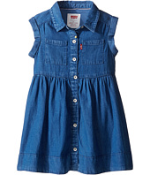 Levi's® Kids - Rolled Sleeve Short Sleeve Woven Dress (Toddler)