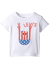 Levi's® Kids - Short Sleeve Hi-Low Tee (Toddler)