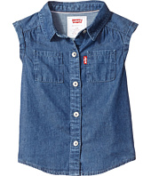 Levi's® Kids - Rolled Sleeve Short Sleeve Denim Top (Infant)
