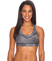 adidas - Printed Heather Techfit Molded Cup Bra
