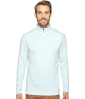True Grit - Lightweight Tencel Zip Pullover w/ Heather Trim