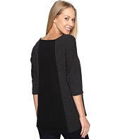 B Collection by Bobeau - Mallory Dolman Mixed Media Top