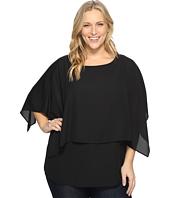 Karen Kane Plus - Plus Size Double Layer Top
