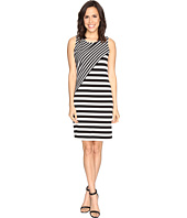 Calvin Klein - Striped Combo Dress