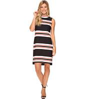 Calvin Klein - Sleeveless Mock Neck Dress