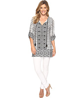 Tolani - Selma Embroidered Tunic Dress