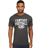 The Original Retro Brand - Fantasy Football King Heather Short Sleeve Tee