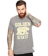 The Original Retro Brand - Golden State Short Sleeve Tri-Blend Tee