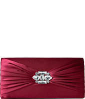 Jessica McClintock - Francesca Satin Brooch Clutch