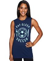 adidas - Eat, Sleep Soccer Muscle Tank Top