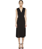 Prabal Gurung - Mech Stretch Crepe V-Neck Carwash Dress