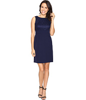 Tahari by ASL - Lace Bodice Sheath Dress