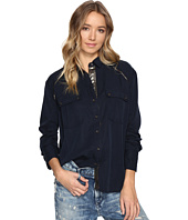 Free People - Off Campus Button Down