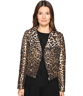 RED VALENTINO - Leopard Jacqaurd Jacket