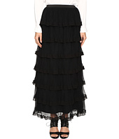 RED VALENTINO - Silk Georgette with Tulle Skirt