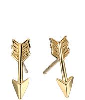 Dee Berkley - 14KT Yellow Gold Arrow Earrings