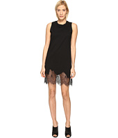 McQ - Lace Trim Tank Dress