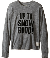 The Original Retro Brand Kids - Up To Snow Good Long Sleeve Tri-Blend Tee (Big Kids)