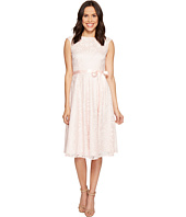 Tahari by ASL - Tea-Length Lace A-Line Dress