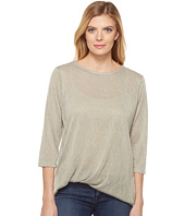 Lisette L Montreal - Linen Jersey Side Knot Top