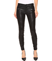 Blank NYC - Vegan Leather Moto Skinny Jeans in Daddy Soda