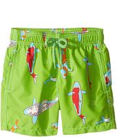 Vilebrequin Kids - Peaceful Carps Swim Trunk (Toddler/Little Kids/Big Kids)