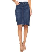 Blank NYC - Raw Hem Denim Skirt in Amateur Hour