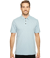 True Grit - Heritage Slub Three-Button Short Sleeve Polo Classic Fit Pigment Dyed