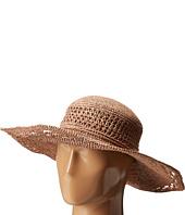 San Diego Hat Company - RHM6006 Crochet Raffia Oval Crown Sun Brim Hat