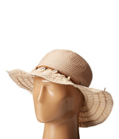 San Diego Hat Company - RBL4786 Ribbon Hat with Shell Trim and Wired Edge
