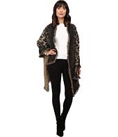 Betsey Johnson - Leapin Leopard Blanket Wrap