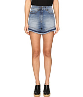 RED VALENTINO - Denim Stone Wash Shorts