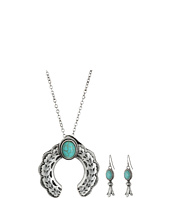 M&F Western - Small Squash Blossom Necklace/Earrings Set