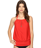 Athena - Cabana Solids Cailyn High Neck Tankini Top